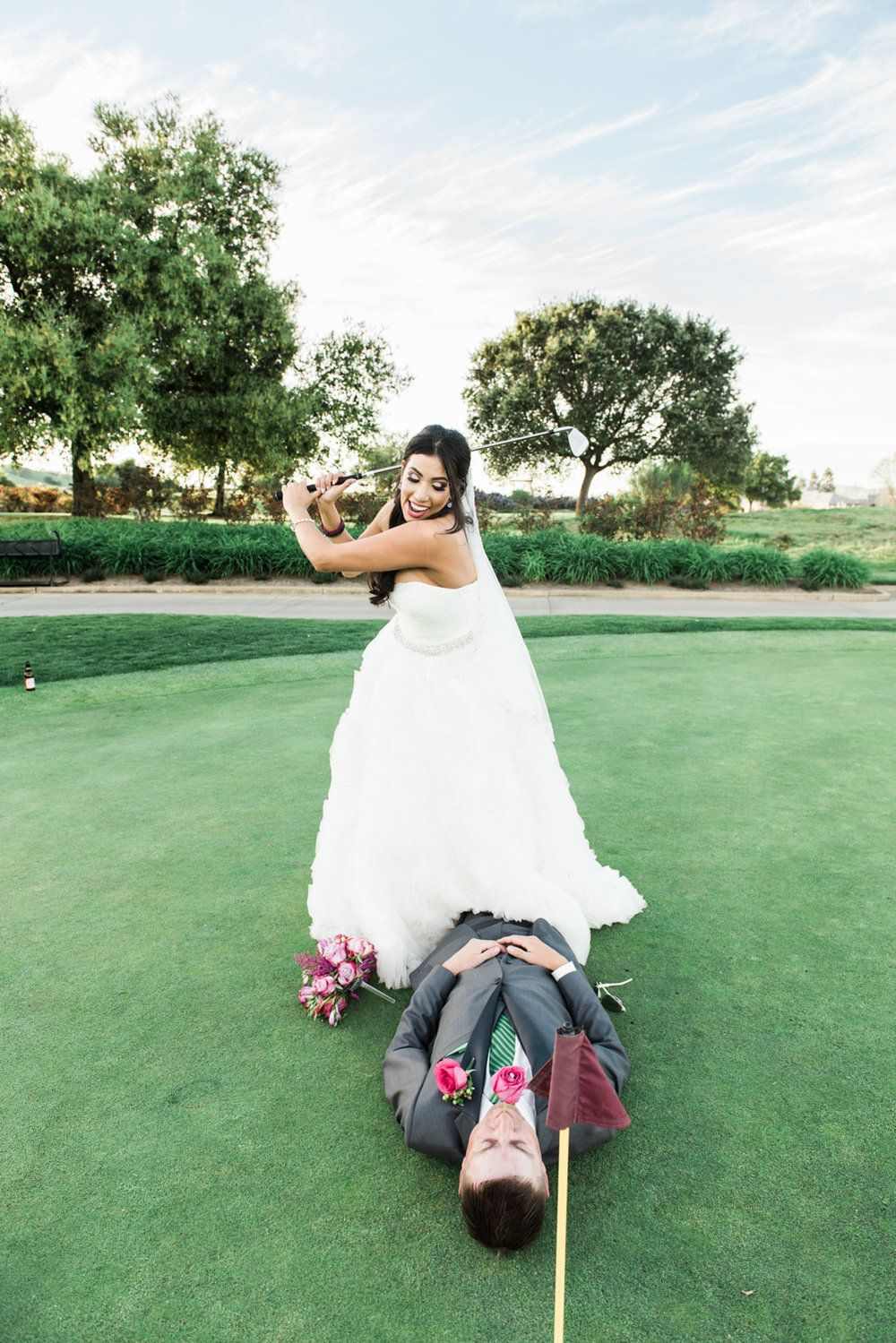 Spring Wedding Photography At The Ruby Hill Golf Club