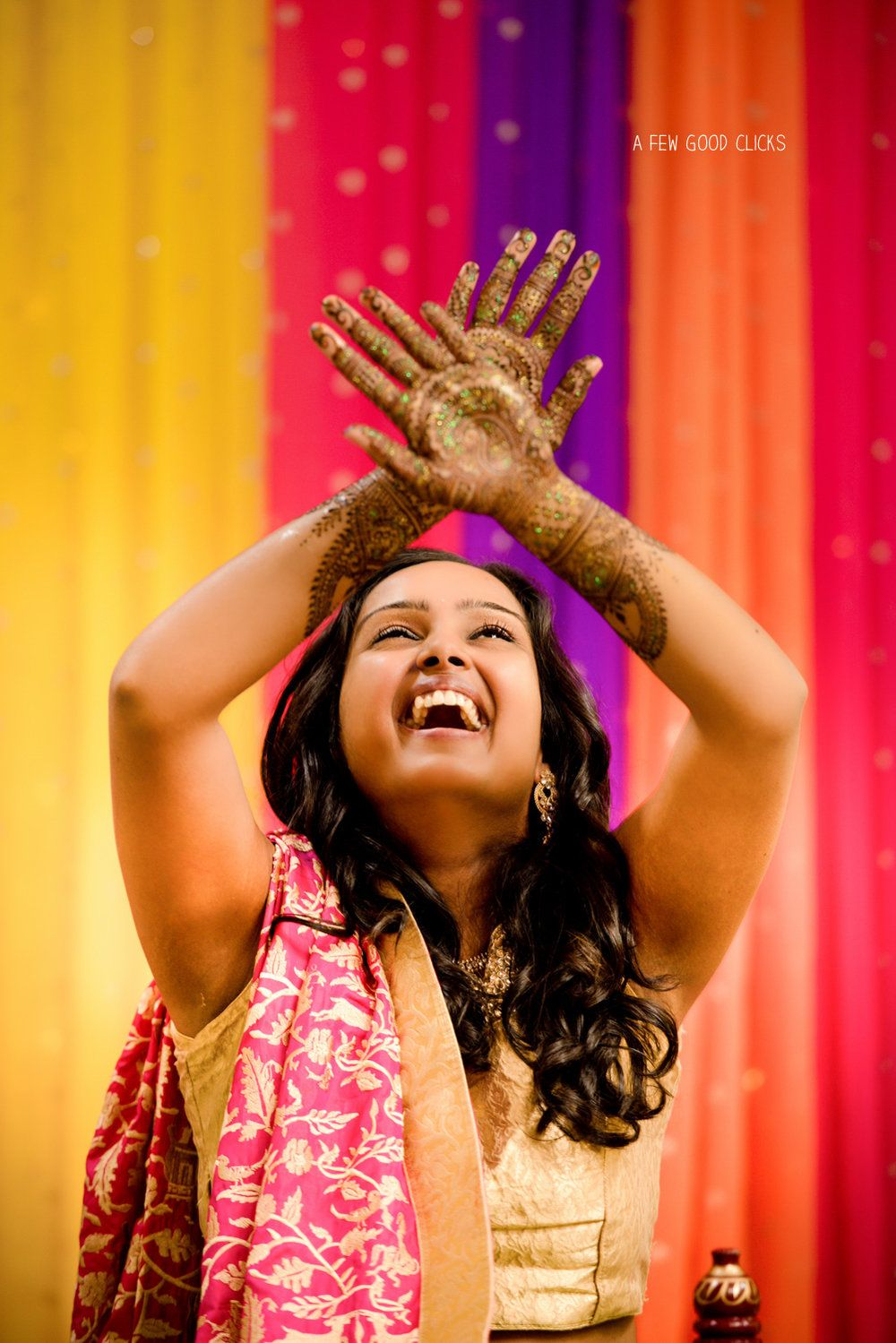 This Lush Celebration Of Mehndi Event Redefines The South Indian Wedding Pictures
