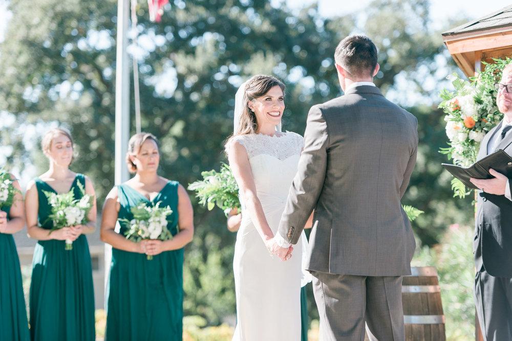 happy-bride-at-the-altar-elliston-vineyard-wedding-photographer-afewgoodclicks.net