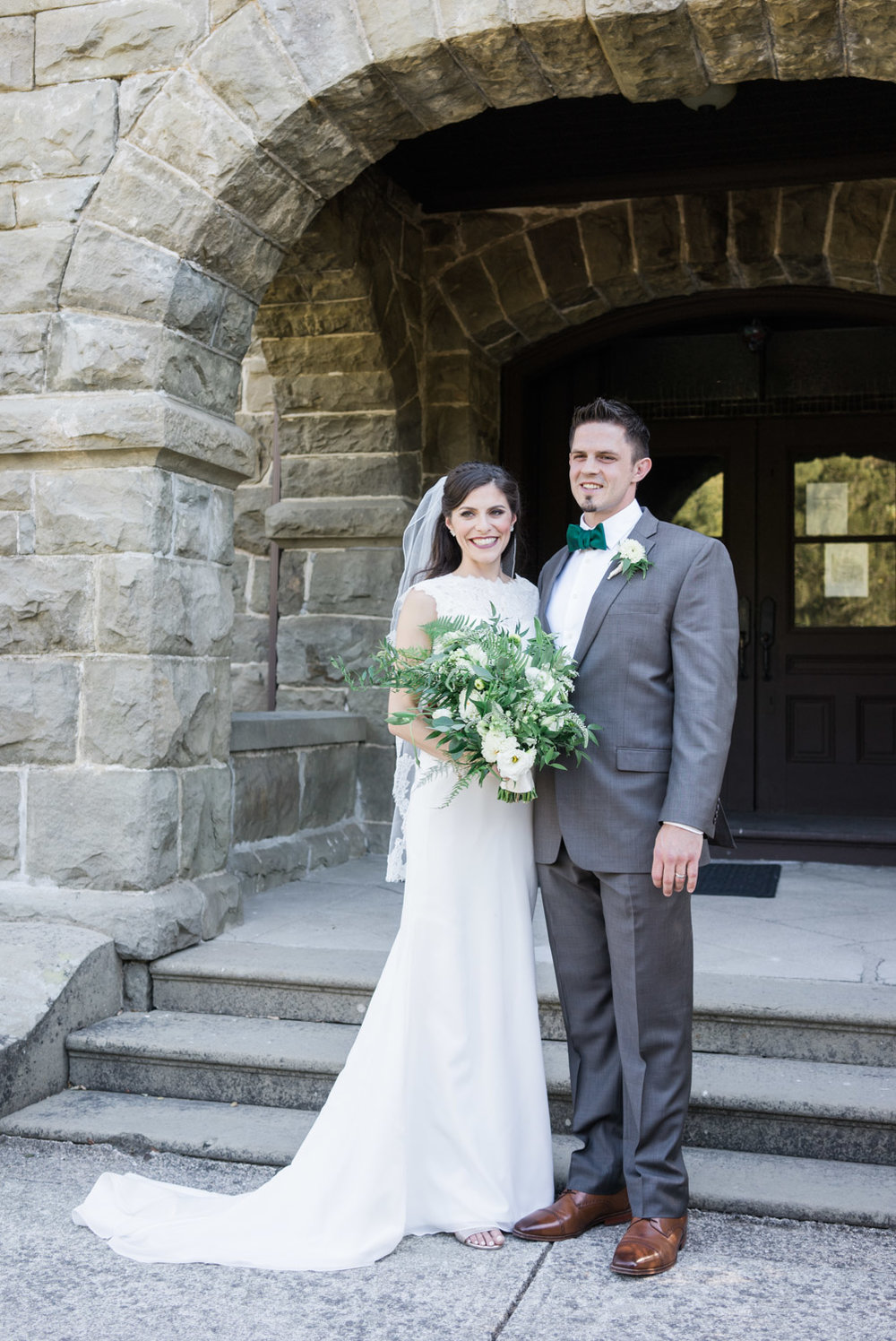 Wedding-couple-outside-elliston-vineyard-wedding-photographer-afewgoodclicks.net