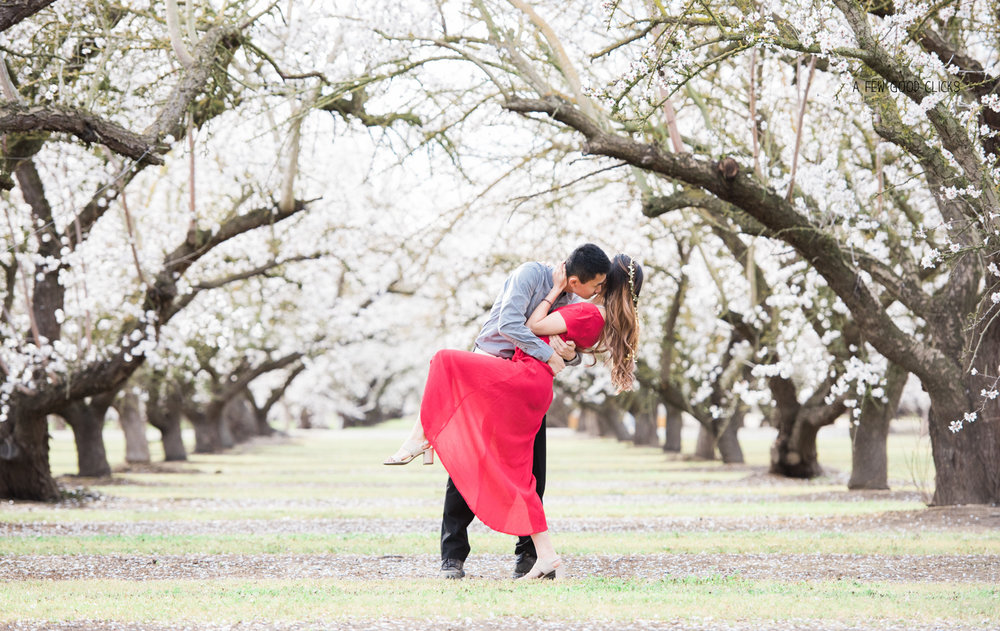 what-to-wear-for-engagement-photo-shoot-red-dress-grey-shirt
