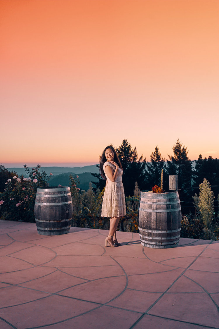 sunset-bridal-photo-shoot-saratoga-hills