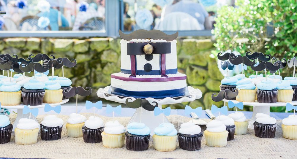 Our Little Man Inspired Baby Shower At Shoreline Lake Boathouse Will Pass For A Garden Party...It's That Pretty!