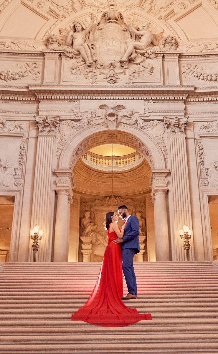 Hire A Local Photographer For Your Wedding At San Francisco's City Hall