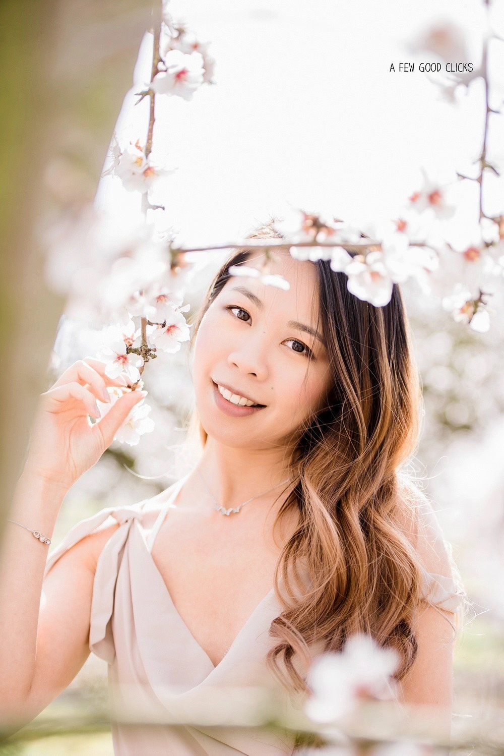 40+ Poses For Spring Engagement Photos At Almond Orchards