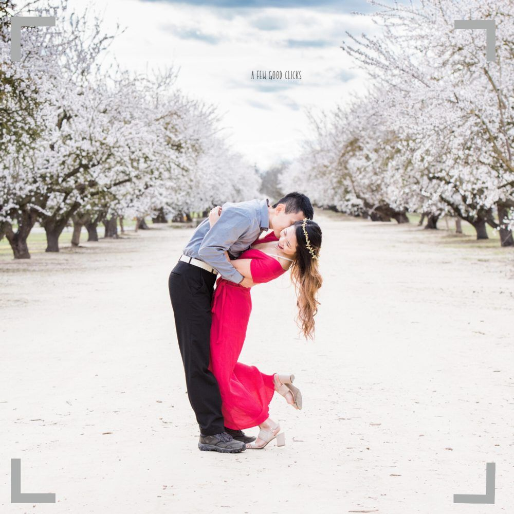 Valentine's PhoValentine's themed photo shoot at Almond farms location near you in Bay Areato Shoot For Couples In Bay Area, California