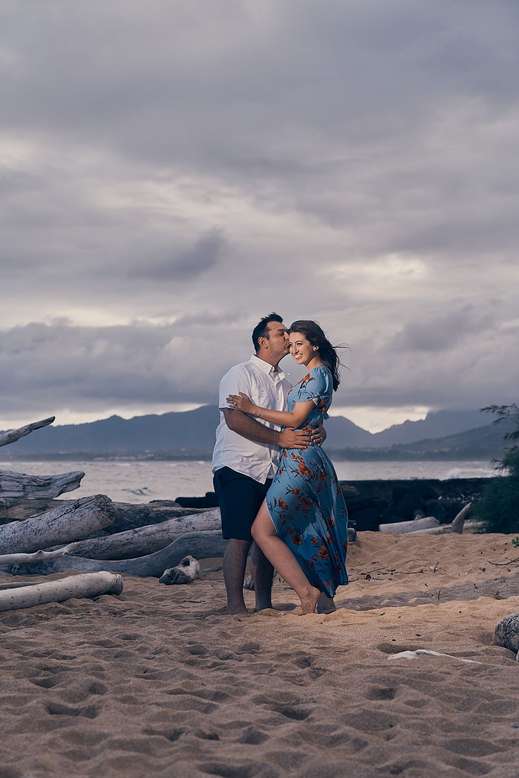 Engagement photoshoot in Kapaa Kauai by A Few Good Clicks